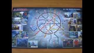Уроки по интересной настольной игре метро. Видеоуроки
