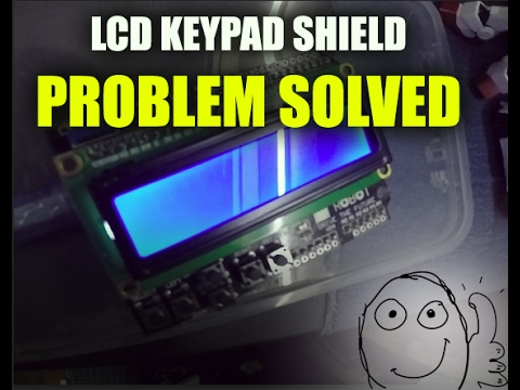 [PROBLEM SOLVED] LCD Keypad Shield Not Displaying Words -ARDUINO UNO -  DFROBOT