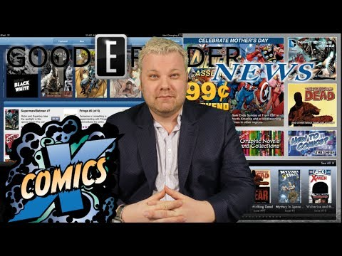 Comixology Suspends purchases on iOS