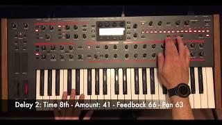 Dsi Pro-2 Kraftwerk-The Robots Bassline step by step