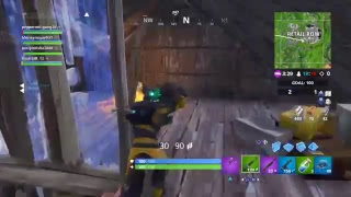 Fortnite mode team RUMBLE with Ejones_9 and Moneymajae931)Playing for XP