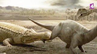 Paralititan VS sarcosuchus (dinosaures) - ZAPPING SAUVAGE