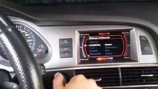Audi A6 4F - Activar