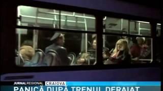 PANICĂ DUPĂ TRENUL DERAIAT