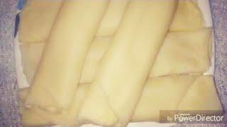 মজাদার খীরের পাটিশাপটা পিঠা/Khirer patishapta pita/homemade রেসিপি।