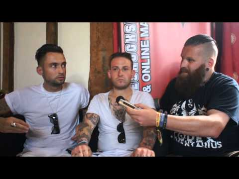 Hounds Interview Sonisphere Festival 2014