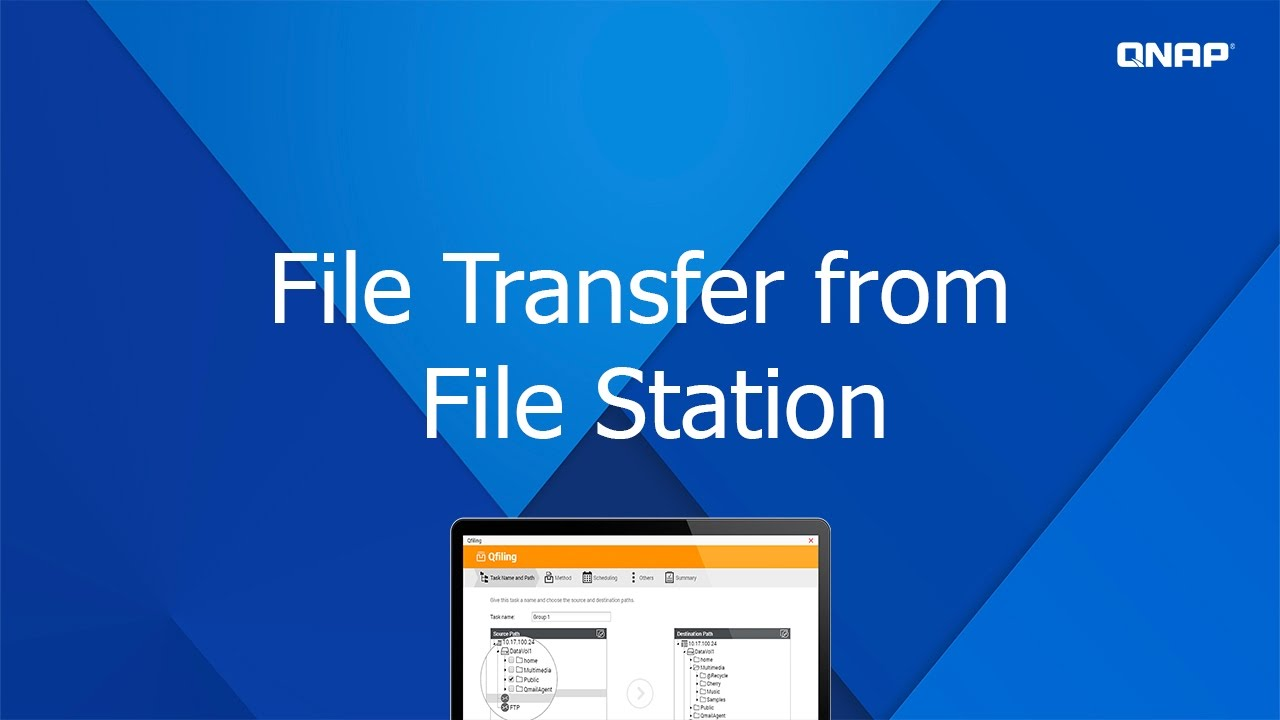 QNP113 - Transfer Files via QNAP File Station
