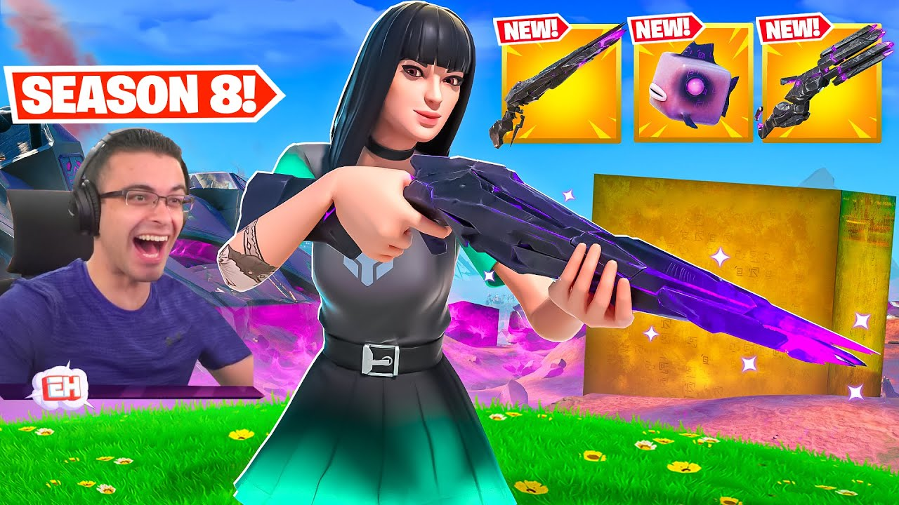 Nick Eh 30 reacts to Season 8 GAMEPLAY CHANGES!