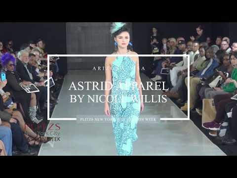 Astrid Apparel By Nicole Willis Arizona USA at PLITZS New York City Fashion Week