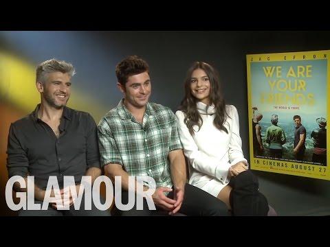 Zac Efron, Emily Ratajkowski & Max Joseph for We Are Your Friends   Glamour UK