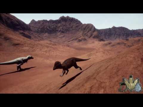 The Isle Pachycephalosaurus in the Red Desert
