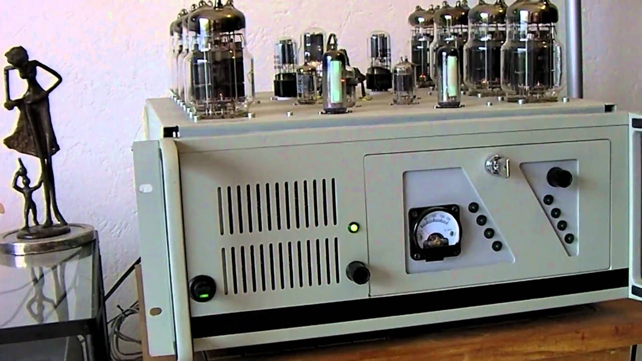 6C33C Tube Amplifier  Amplificateur  Tubes - Youtube-4636
