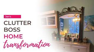 Jen's Clutter Boss Home Transformation