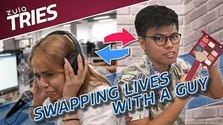 zula tries swapping lives with a guy for a day ep 23