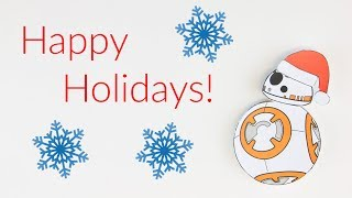 BB-8 Stop Motion Holiday Edition!!!