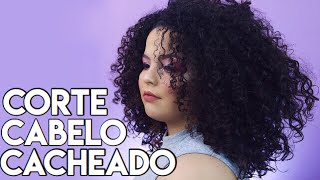 Cut curly hair, removing chemistry   Ca martins # VEDA4