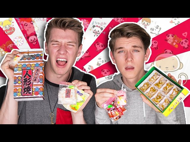 TRYING JAPANESE CANDY | Collins Key