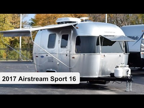 Fantastic 2017 Airstream 16u0026#39; Bambi Sport Walk Through At Haydocy ... | Doovi