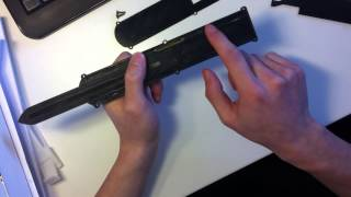 How To: Assassins Creed Hidden Blade Prototype Internals - Dual action mechanism explained