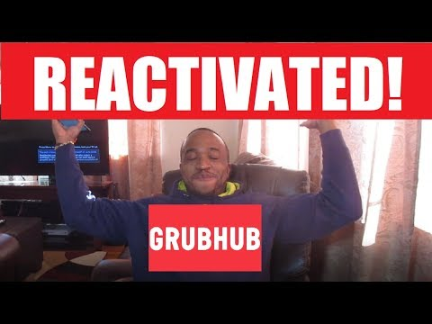 I AM BACK! REACTIVATED - GRUBHUB / DOORDASH DRIVER. Going To Charlotte, NC