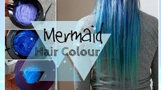 DIY: Mermaid Ombre Hair