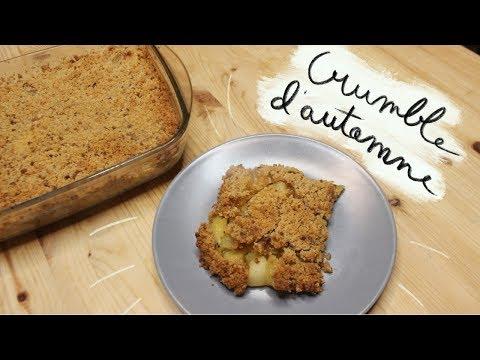 recette-:-crumble-pommes,-poires-et-kiwi-facile-et-rapide