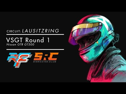 rFactor 2 - SRC - Virtual SGT - 2hrs of Lausitzring R1