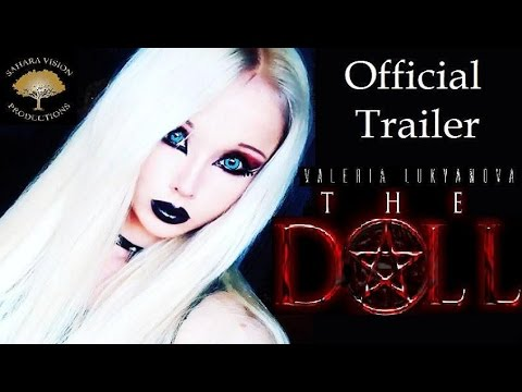 THE DOLL Official Trailer 2016 Horror movie Valeria Lukyanova - Human Barbie