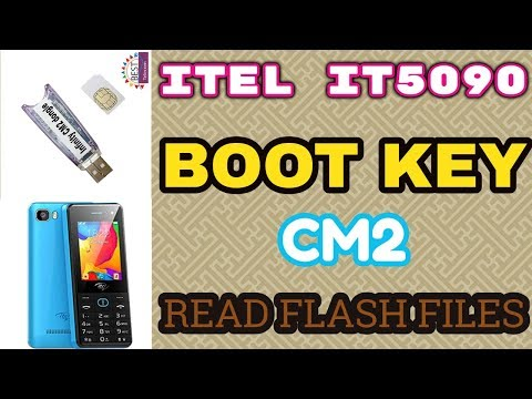 ITEL IT5090 BOOT KEY READ FLASH FILES BY CM2 - YouTube