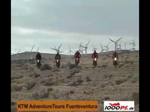 Aus dem verstaubten Archiv   KTM Adventuretours auf Fuerteventura