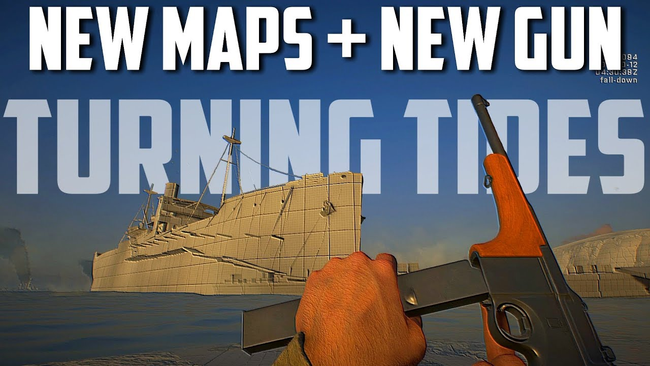 Turning Tides DLC GAMEPLAY New Maps