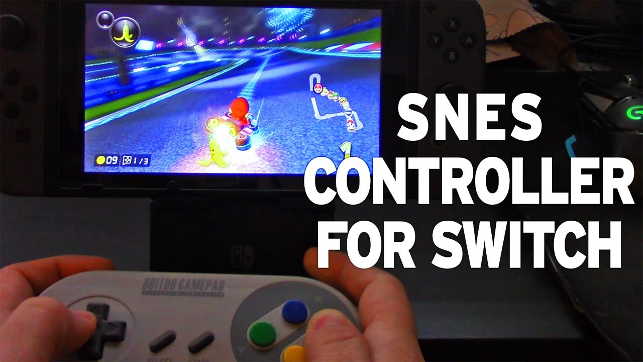 8BitDo SNES Controllers Work on Switch!
