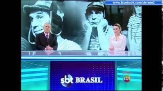 SBT Brasil 28/11/2014 Morre Roberto Gómez Bolaños o Chaves