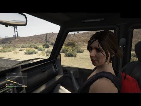 GTA V - Hot Date With Hitchhiker Ursula (Booty Call)