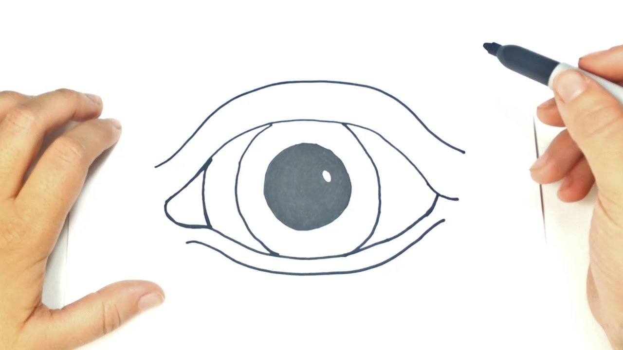 C mo dibujar un ojo realista paso a paso dibujo f cil de for Comedor facil de dibujar