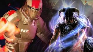 Video Game Showdown: Mass Effect Vs. The Elder Scrolls