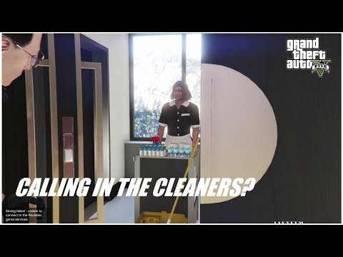 GTA 5 ONLINE CASINO PENTHOUSE GETTING DIRTY? CALL THE CLEANERS!