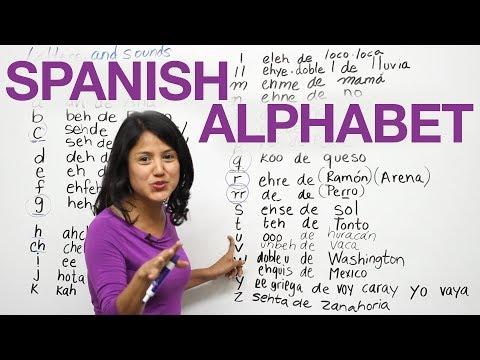 Phát âm tiếng Tây Ban Nha (cô Ana)