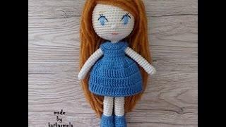 Кукла крючком для начинающих: Лейла