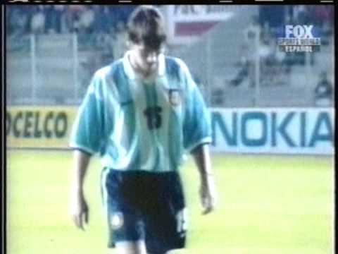 1999 (June 16) Colombia 1 -Argentina 1 (Toulon Under 21 Tournament)