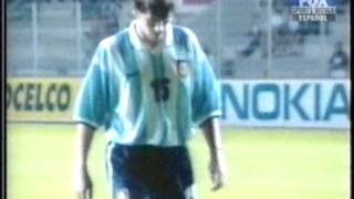 1999 (June 16) Colombia 1 -Argentina 1 (Toulon Under 21 Tournament)