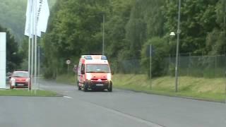 DRK Rettungsdienst Mittelhessen - Doppler-Effekt - Martinshorn (Stadt)
