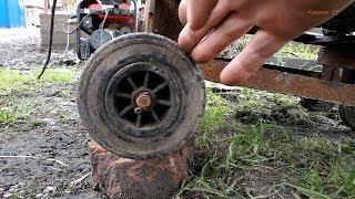 Почему колесо вращается по часовой стрелке?