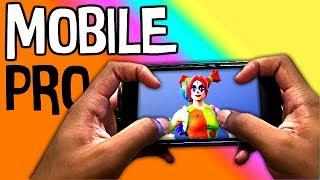 🔴 Pro Fortnite Mobile Player / 4 Finger Claw / 5k+ Eliminations