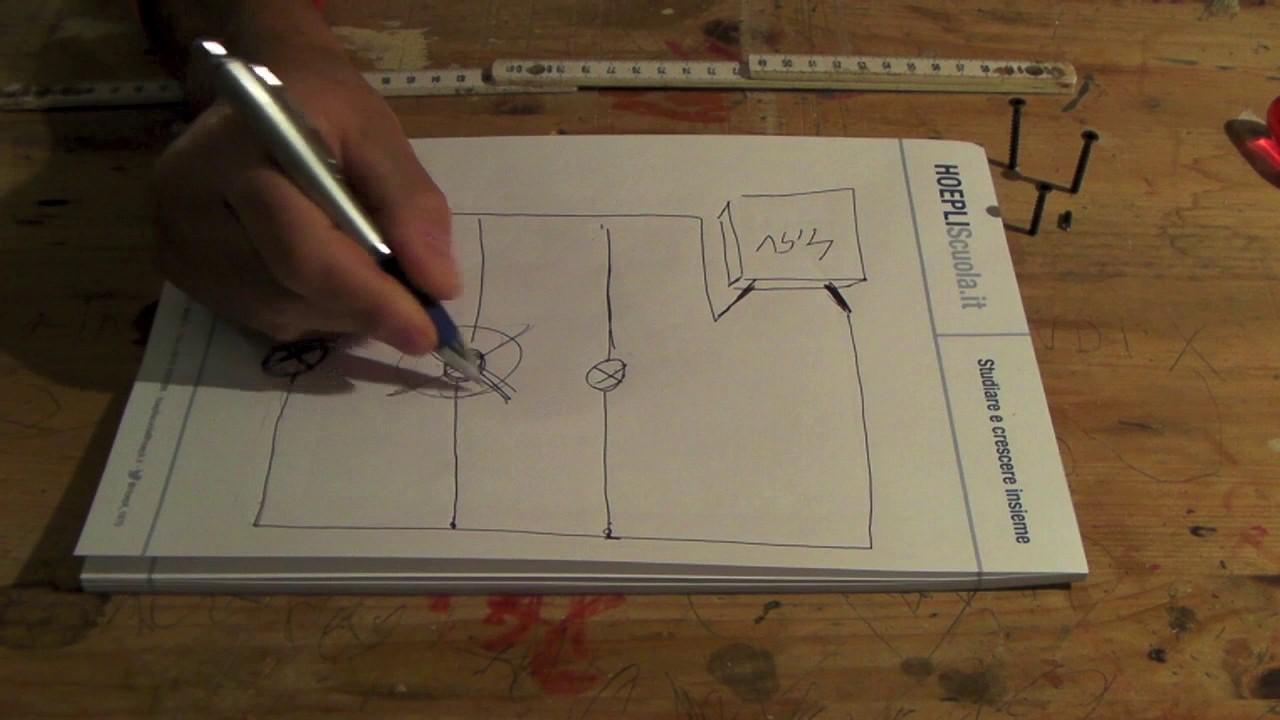 Schema Collegamento Neon In Serie : Come collegare delle lampadine in parallelo youtube