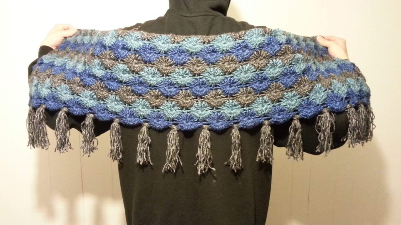Crochet How To Crochet Gorgeous Bavarian Stitch Shawl Scarf Wrap