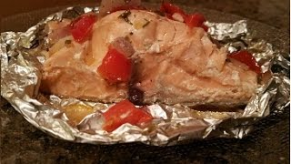 Grilling Salmon In Foil / Individual Packets Of Salmon
