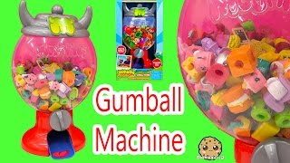 Moshi Monsters GUMBALL MACHINE Playset with Exclusive,  Holds Shopkins Toys too Cookieswirlc Video