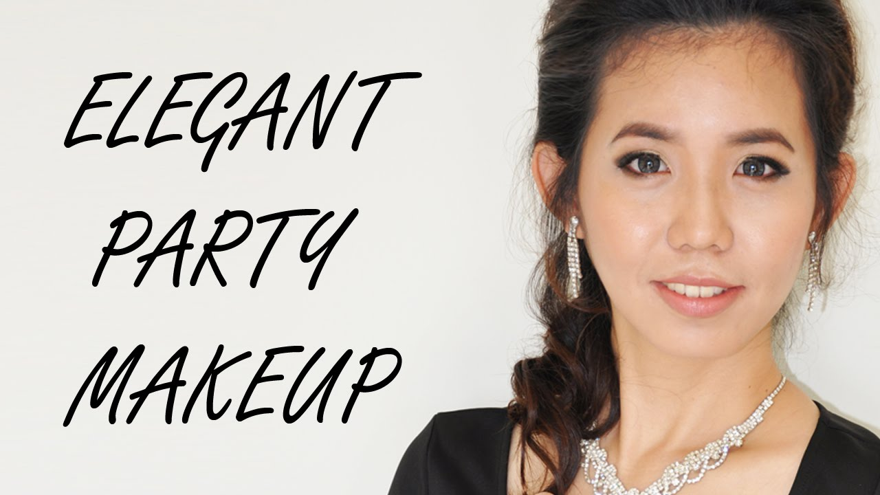 Wedding Party Makeup for 40s | Simple Natural Party Look - YouTube