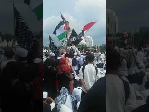 lagu mars bela palestina 17.12.2017 Habbib.Rizieq Live Dari Mekah